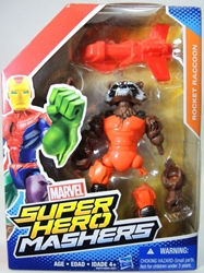 Marvel Super Hero Mashers 4.5 inch Figure - Rocket Raccoon Hasbro, Marvel, Action Figures, 2015, superhero, comic book