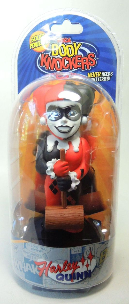 NECA DC Solar Powered Body Knocker - Harley Quinn NECA, DC, Bobble-Heads, 2016, superhero, comic book