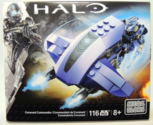 Mega Bloks Halo Covenant Commander Mega Bloks, Halo, Legos & Mega Bloks, 2015, scifi, video game