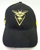 Pokemon Go black canvas cap - Team Instinct China, Pokemon Go, Hats, 2016|Color~black|Color~yellow, cute animals, video game