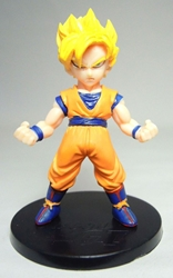 Dragon Ball GT small figure - SS Goku (yellow hair) China, Dragon Ball GT, Action Figures, 2016, anime