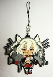 Kantai Collection soft plastic clip-on 2.5 inch Musashi China, Kantai Collection, Keychains, 2016|Color~grey|Color~cream|Color~fleshtone, anime