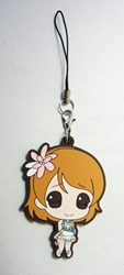 Love Live! Soft plastic clip-on 2.1 inch SD Hanayo China, Love Live!, Keychains, 2016|Color~fleshtone|Color~brown|Color~pink, anime