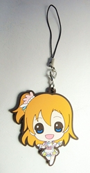 Love Live! Soft plastic clip-on 2.1 inch SD Honoka China, Love Live!, Keychains, 2016|Color~fleshtone|Color~brown|Color~pink, anime
