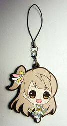 Love Live! Soft plastic clip-on 2.1 inch SD Kotori China, Love Live!, Keychains, 2016|Color~fleshtone|Color~brown|Color~white, anime