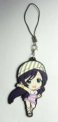 Love Live! Soft plastic clip-on 2.5 inch Nozomi China, Love Live!, Keychains, 2016|Color~fleshtone|Color~white|Color~brown, anime