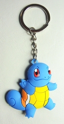 Pokemon soft plastic keychain - Squirtle China, Pokemon, Keychains, 2016|Color~blue|Color~mustard, animated, game