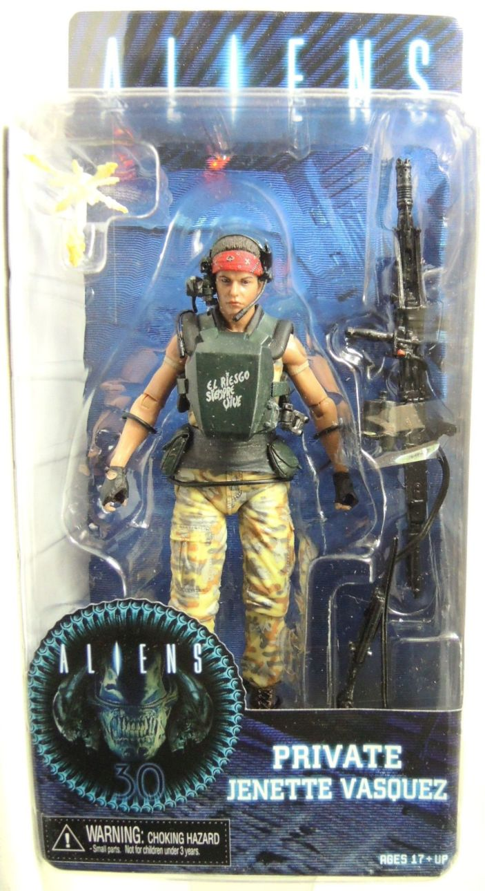 NECA Aliens Series 9 Action Figure - Private Jenette Vasquez NECA, Aliens, Action Figures, 2016, scifi, movie