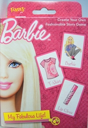 Barbie My Fabulous Life: Create Your Own Fashionable Story Game Fundex, Barbie, Games, 2012, fashion, toy