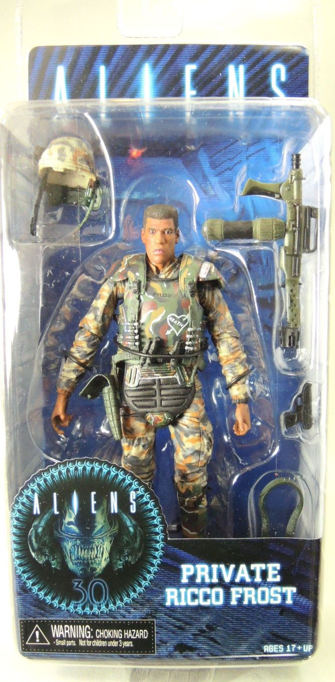 NECA Aliens Series 9 Action Figure - Private Rico Frost NECA, Aliens, Action Figures, 2016, scifi, movie