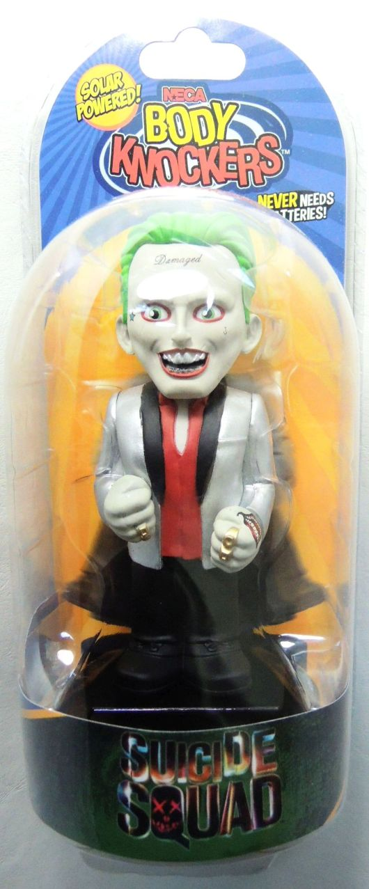 NECA Suicide Squad Movie Body Knocker The Joker NECA, Suicide Squad, Bobble-Heads, 2016, action, movie