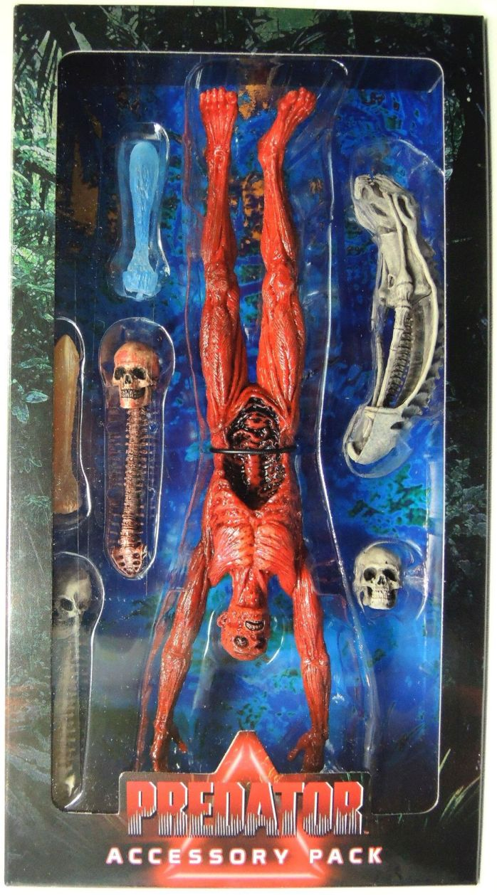 NECA Predator Deluxe Accessory Pack NECA, Predators, Action Figures, 2016, scifi, movie