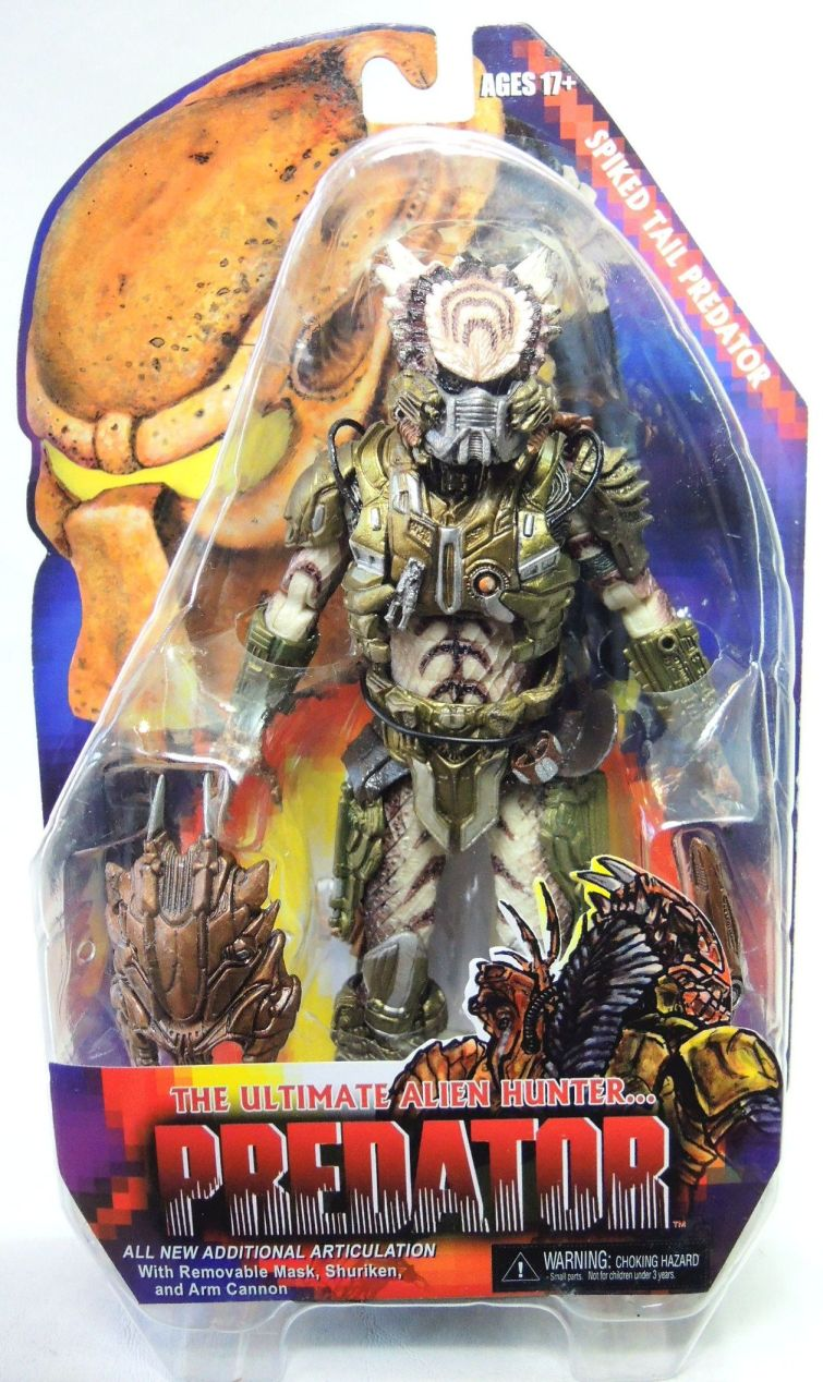 NECA Predator Series 16 Spiked Tail Predator NECA, Predators, Action Figures, 2016, scifi, movie