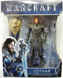 Jakks Pacific 2016 Warcraft 6 inch Figure - Lothar Jakks, Warcraft, Action Figures, 2016, fantasy, video game