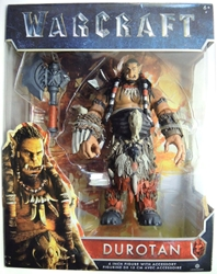 Jakks Pacific 2016 Warcraft 6 inch Figure - Durotan Jakks Pacific, Warcraft, Action Figures, 2016, fantasy, video game