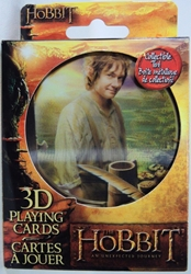 The Hobbit 3D Playing Cards in embossed Tin Cartamundi, The Hobbit, Games, 2012, fantasy, movie