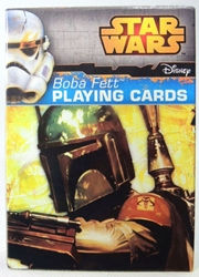 Star Wars Playing Cards - Boba Fett Deck Cartamundi, Star Wars, Games, 2015, scifi, movie
