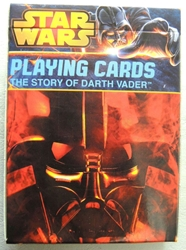 Star Wars Playing Cards - The Story of Darth Vader deck Cartamundi, Star Wars, Games, 2014, scifi, movie