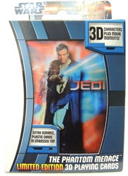 Star Wars Playing Cards - The Phantom Menace 3D Limited Edition Cartamundi, Star Wars, Games, 2012, scifi, movie