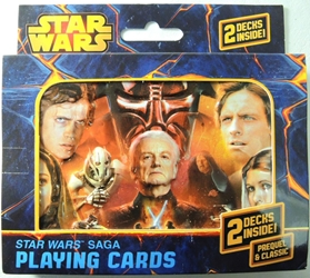 Star Wars Playing Cards - Star Wars Saga double deck in collectible tin Cartamundi, Star Wars, Games, 2014, scifi, movie