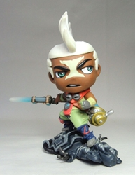 League of Legends 5 inch figure - Ekko China, League of Legends, Action Figures, 2016, anime, video game