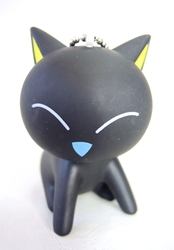 Black Cat PVC keychain - eyes closed China, Black Cat, Keychains, 2016|Color~black, kidfare, japan