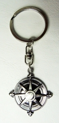 D Gray-Man Z alloy keychain - compass rose medallion China, D Gray-Man, Keychains, 2016|Color~bronze, fantasy, japan