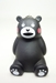 Black Bear Kumamon PVC keychain - sitting - 10025-9977CCCVGT