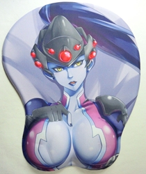 3D mouse pad - Overwatch Widowmaker China, Overwatch, Mouse Pads, 2016, superhero, video game