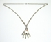 D. Gray-Man - Hand of the Black Order alloy pendant necklace - 10089-10041CCCVFG