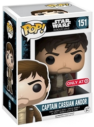 Funko POP! Star Wars 3.75 inch figure - Captain Cassian Andor #151 Funko, Star Wars, Action Figures, 2016, scifi, movie