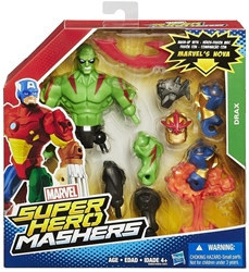 Marvel Super Hero Mashers 6 inch Figure - Drax Hasbro, Marvel, Action Figures, 2015, superhero, comic book