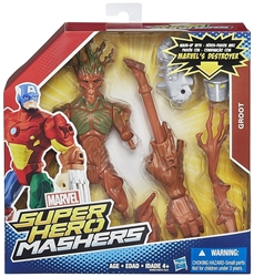 Marvel Super Hero Mashers 6 inch Figure - Groot Hasbro, Marvel, Action Figures, 2015, superhero, comic book