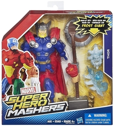 Marvel Super Hero Mashers 6 inch Figure - Thor Hasbro, Marvel, Action Figures, 2015, superhero, comic book