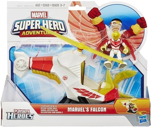 Playskool Heroes Marvel Super Hero Adventures - Talon Copter with Falcon Playskool, Marvel, Action Figures, 2014, superhero, comic book