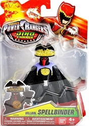 Power Rangers Dino Supercharge Villain 5.5 inch Figure - Spellbinder Bandai, Power Rangers, Action Figures, 2015, scifi, tv show