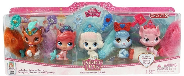 Whisker Haven Palace Pets 5-Pack Blip Toys, Palace Pets, Littlest Pet Shop, 2016, cute animals