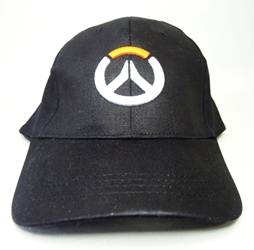 Overwatch Black canvas Cap - with Overwatch Logo China, Overwatch, Hats, 2016|Color~black, superhero, video game
