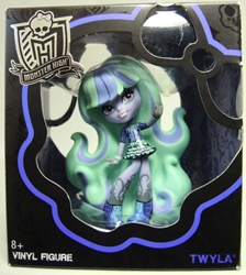 Monster High 4 inch Vinyl Figure - Twyla Mattel, Monster High, Dolls, 2014, teen, fashion, movie