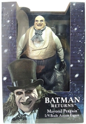 NECA Batman Returns 1/4 Scale Mayoral Penguin Figure NECA, Batman, Action Figures, 2017, superhero, comic book
