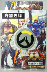 Overwatch - playing cards China, Overwatch, Games, 2017, superhero, video game