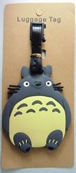Totoro Luggage Tag NEW China, My Neighbor Totoro, Luggage Tag, 2017|Color~grey|Color~cream, anime