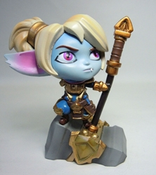 League of Legends 4 inch figure - Poppy China, League of Legends, Action Figures, 2014, anime, video game