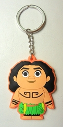 Moana soft plastic keychain - Maui China, Moana, Keychains, 2017|Color~fleshtone|Color~green|Color~black, kidfare