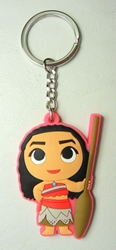 Moana soft plastic keychain - Moana China, Moana, Keychains, 2017|Color~fleshtone|Color~green|Color~black, kidfare