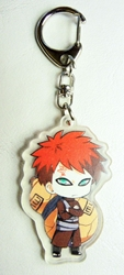 Naruto acrylic keychain - Gaara with his gourd China, Naruto, Keychains, 2017|Color~re|Color~orange|Color~fleshtone, educational