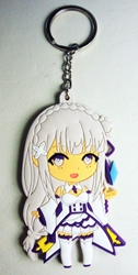 Re:Zero Starting Life in Another World - soft-plastic keychain - Satella China, Re:Zero - Starting Life in Another World, Keychains, 2017|Color~white|Color~fleshtone|Color~purple, anime