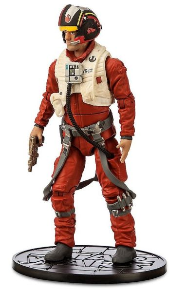 Star Wars Die Cast-Figure - Poe Dameron 6.5 inch Disney, Star Wars, Action Figures, 2016, scifi, movie