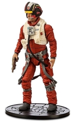 Star Wars Die Cast-Figure - Poe Dameron 6.5 inch Disney Lucasfilm, Star Wars, Action Figures, 2016, scifi, movie