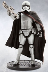 Star Wars Die-Cast Figure - Captain Phasma 7.2 inch Disney Lucasfilm, Star Wars, Action Figures, 2016, scifi, movie